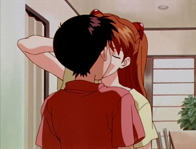 シンジとアスカ