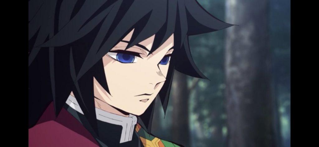 青い瞳の冨岡義勇