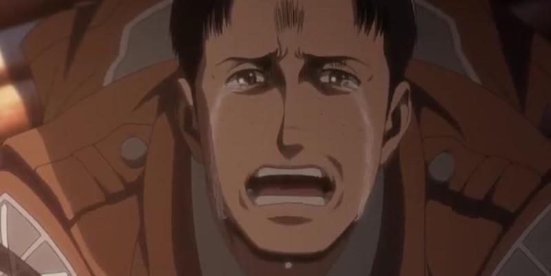 涙するマルコ