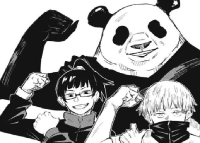 真希と狗巻とパンダ