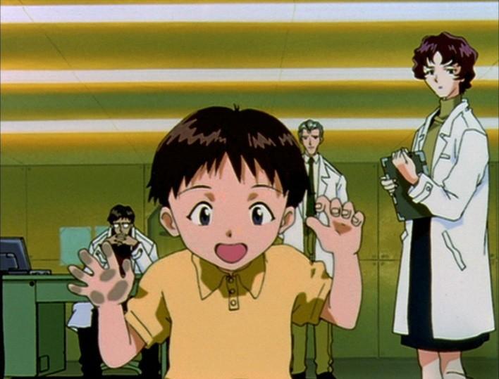 子供の頃のかわいい碇シンジ